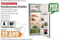 Kombinovani frižider TR DCC2350A Silver