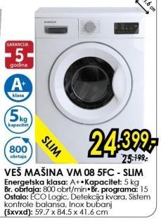 Veš Mašina VM 08 5 FC