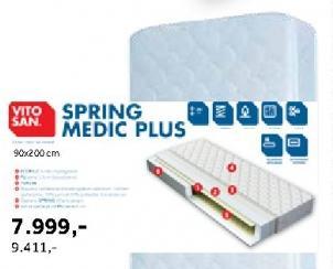 Dušek Spring Medic Plus