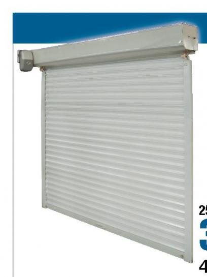 Garažna rolo vrata, 2500x2150 mm