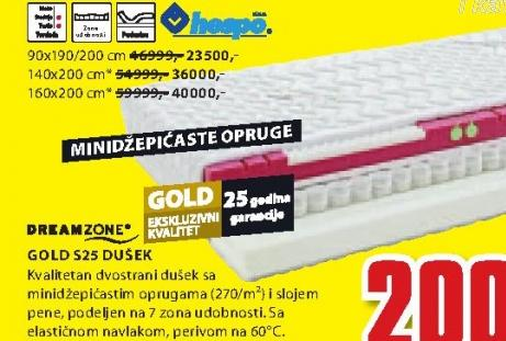 Dušek, Gold S25