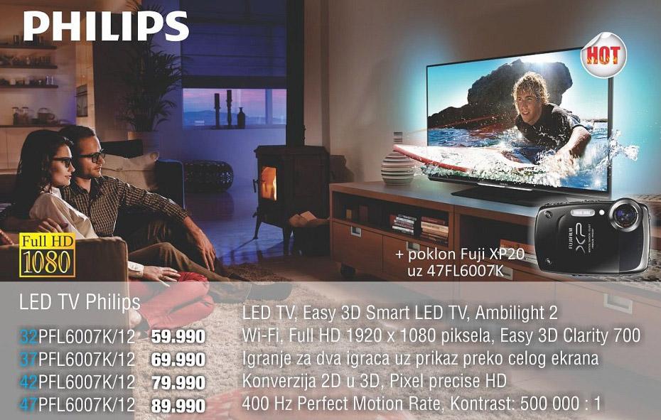 3D Televizor 42Pfl6007K/12