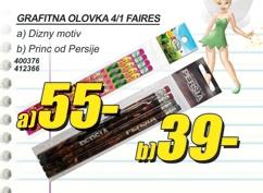 Grafitna olovka 4/1 FAIRES