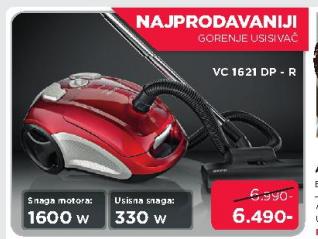 Usisivač VC1621DPR