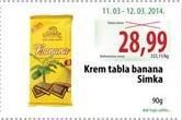 Čokolada banana