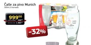 Čaše za pivo Munich 300ml