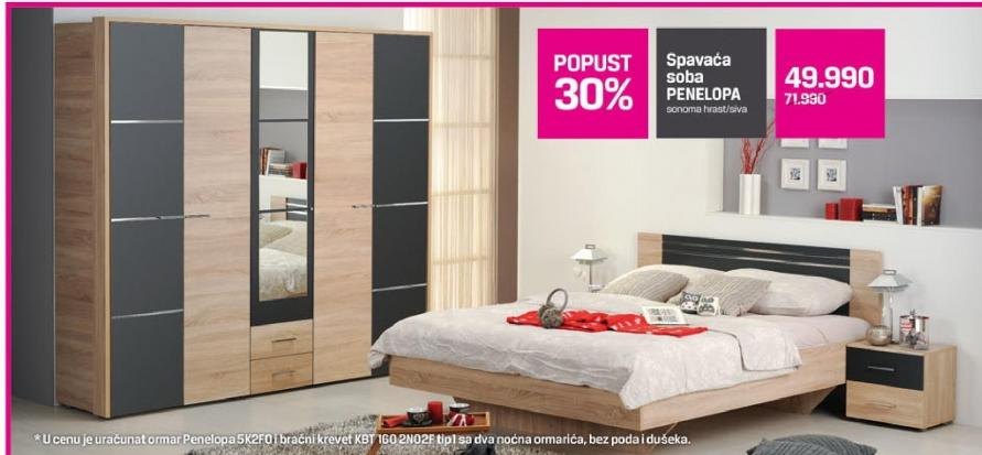Spavaća soba Penelopa