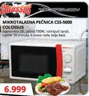 Mikrotalasna pećnica CSS-5000