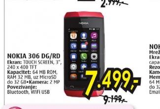 Mobilni Telefon Asha N 306 Dg/Wn