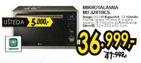 Mikrotalasna MU 3281BCS