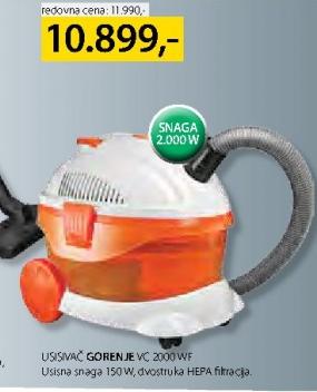 Usisivač VC 2000 WF