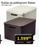 Kutija sa poklopcem Ratan