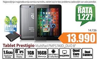 Tablet Multipad PMP5780_Duo 8''