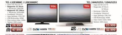"""Televizor TV 32"""" LED TCL L32E3000C"""