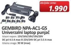 Univerzalni laptop punjač NPA-AC1-GS