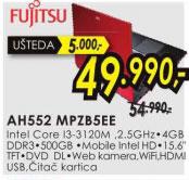 Laptop LifeBook AH552 MPZB5EE
