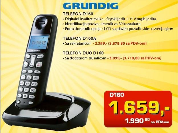 Bežični telefon D160