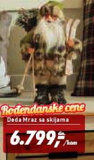 Deda Mraz sa skijama