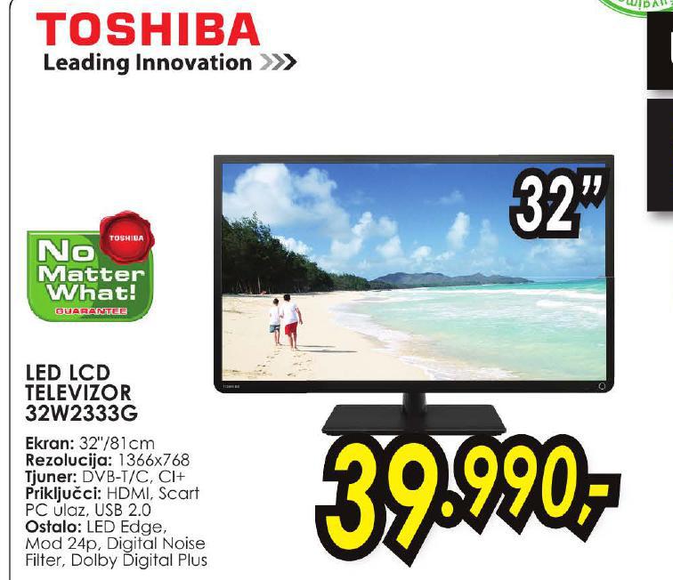 LED LCD Televizor 32W2333G