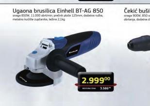 Ugaona brusilica BT-AG 850
