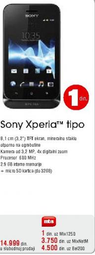 Mobilni Telefon Xperia Tipo