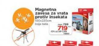 Magnetna zavesa za vrata protiv insekata