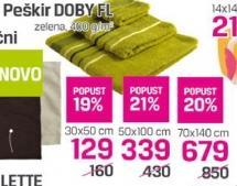 Peškir Doby Fl 50x100