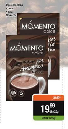 Topla čokolada crna Momento