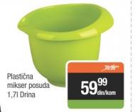 Plastična mikser posuda 1,7L - Drina