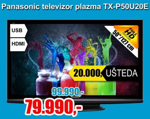 Televizor plazma  TX - P50U20E