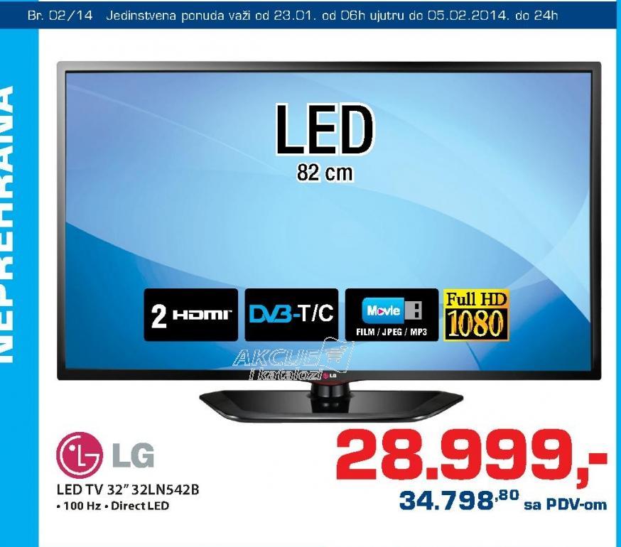 Televizor LED 32LN542B