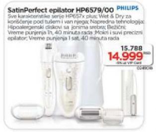 Epilator Hp 6579/00