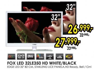 "Televizor LED 32"" 32le350 Hd white"