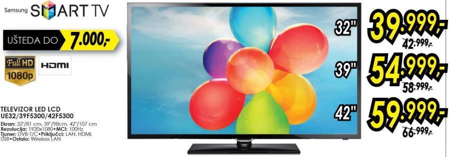 "Televizor LED 42"" Ue42f5300"