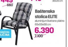 Baštenska stolica Elite