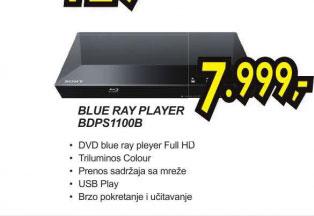 Blu-ray plejer BDP-S1100B