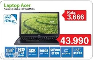 Laptop Aspire E1-530g-21174g50Mnkk