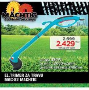 Električni trimer za travu Mac-82