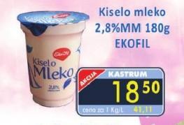 Kiselo mleko 2,8% mm