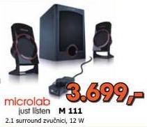 Zvučnici 2.1 M111