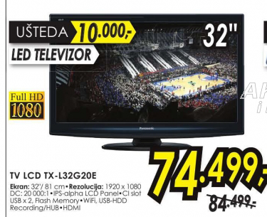 Televizor LED -TX L32G20E
