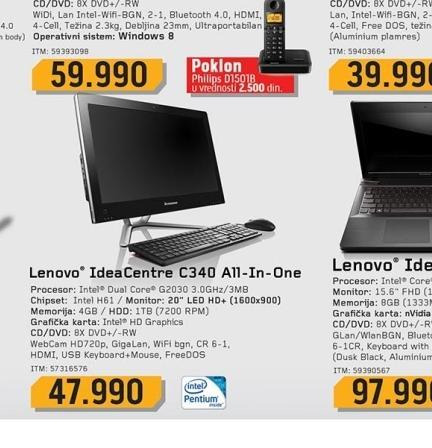 Laptop C340