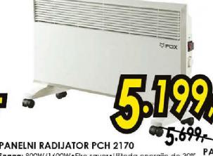 Panelni radijator PCH 2170