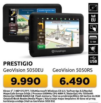 Navigacija GeoVision 5050eu