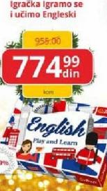 Igračka učimo engleski