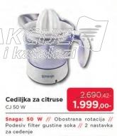 Cediljka za citruse CJ 50 W