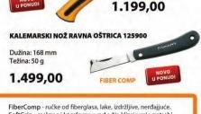 Kalemarski nož 125900