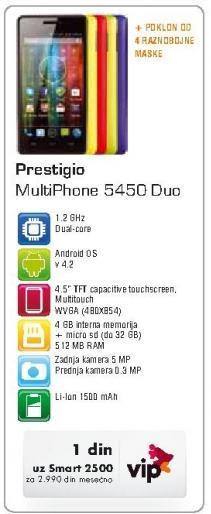 Mobilni telefon Multiphone 5450 Duo