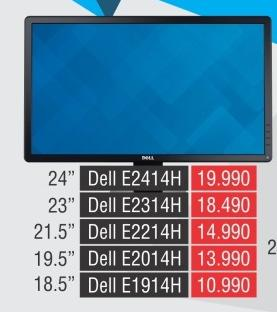 """Monitor LED 24"""" E2414h"""