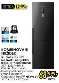 Kombinovani frižider RL56GEGBP1